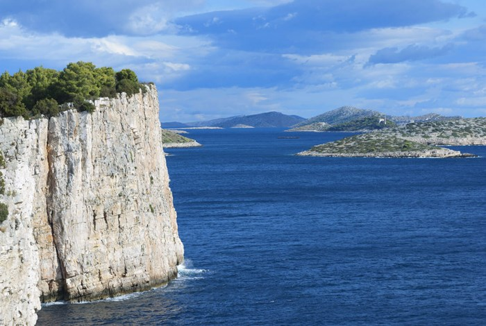 The Kornati from Dugi Otok