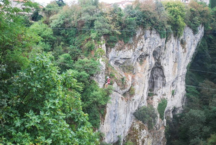 Pazin Gorge and zip wire