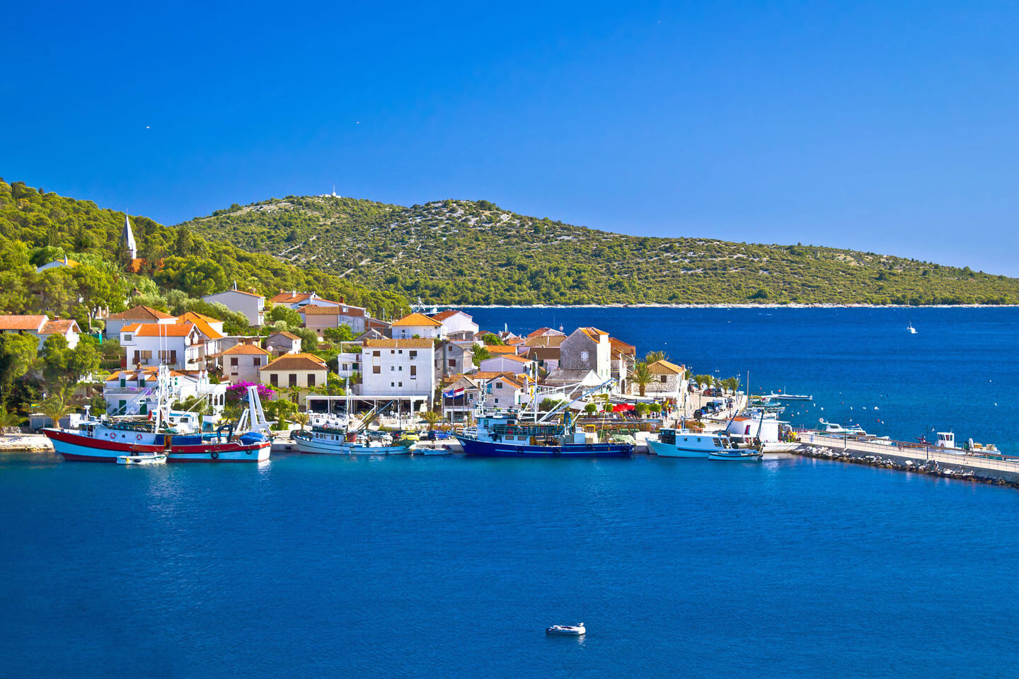 Rogoznica - a charming fishing harbour