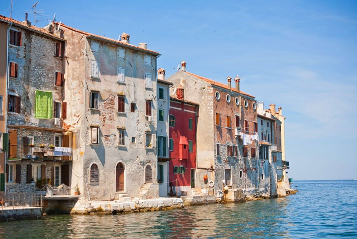 Old houses of Rovinj