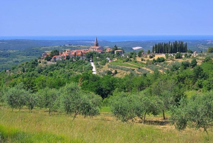 Groznjan - gorgeous Istrian hilltop town