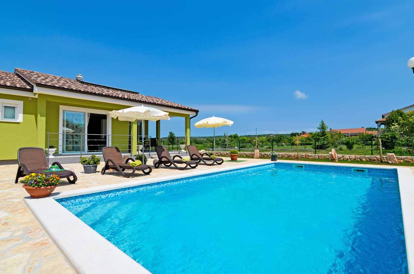 Villa Evergreen - near Labin