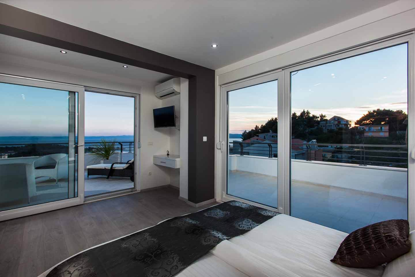 Double bedroom view