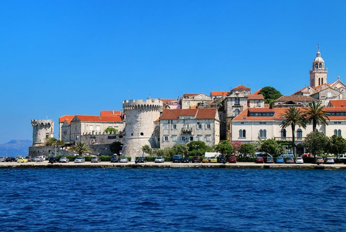 Fortifications around Korcula town