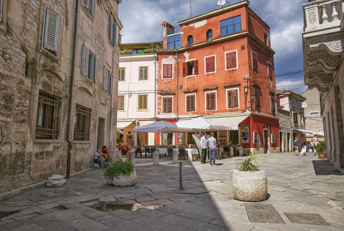 Cafes in Pula centre