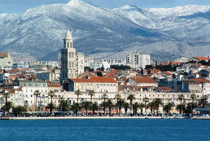 Split waterfront and Diocletian