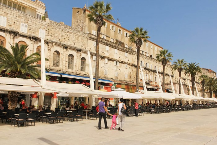 Split and the walls of Diocletian