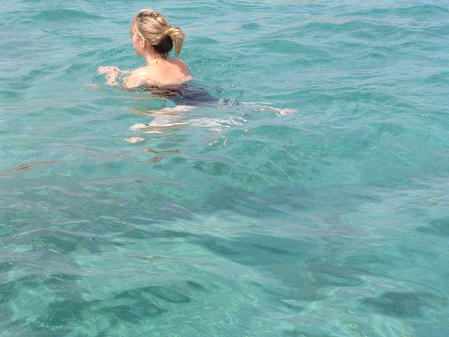 Swimming in Istria