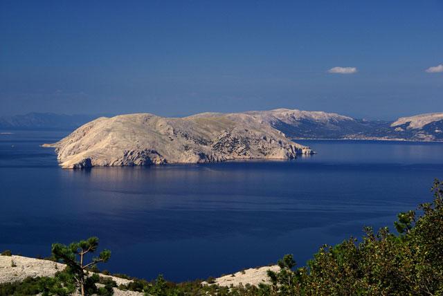Krk island view