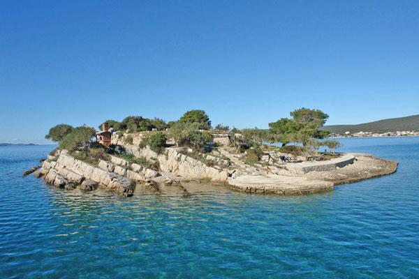 Villa Castaway, near Zadar